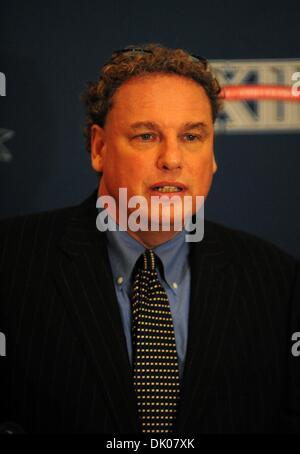Dec. 22, 2010 - Manhattan, New York, U.S. - New York Yankees President RANDY LEVINE speaks as The New Era Pinstripe - Stock Photo