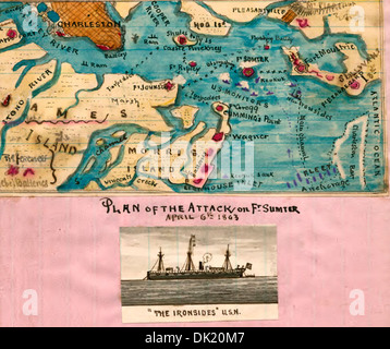 Ft Sumter Us Map Globalinterco - Ft sumter us map