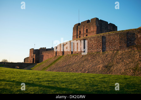 The Castle in Carlisle city centre UK - Stock Photo