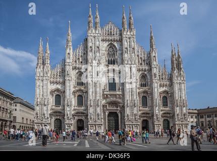 Milan Cathedral / Duomo di Milano - Stock Photo