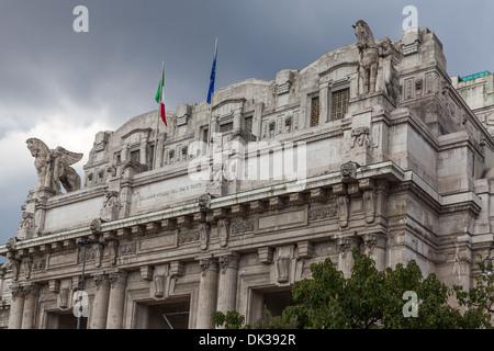Milan Central Railway station / Milano Centrale - Stock Photo