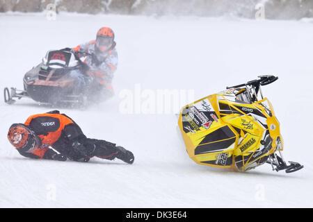 Feb. 27, 2011 - Eganville, Ontario, Canada - Adam MacDonnell(225) (Credit Image: © Leon Switzer/Southcreek Global/ZUMAPRESS.com) - Stock Photo