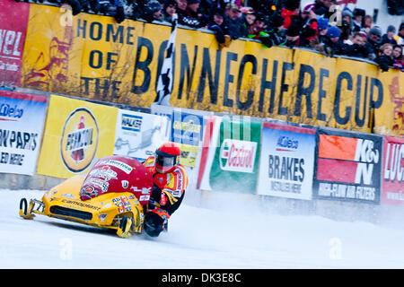 Feb. 27, 2011 - Eganville, Ontario, Canada - Jacques Villeneuve(96) (Credit Image: © Leon Switzer/Southcreek Global/ZUMAPRESS.com) - Stock Photo