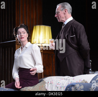 Anna Chancellor Photo call for Browning Version at Harold Pinter Theatre London England- 23.04.12 - Stock Photo