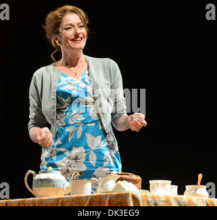 Anna Chancellor Photo call for Browning Version at Harold Pinter Theatre London England- 23.04.12 - Stock Photo