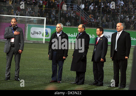 Mar 09, 2011 - Ramallah, West Bank, Palestinian Territory - Palestinian prime minister SALAM FAYYAD participate - Stock Photo