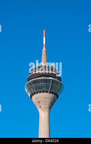 media tower in dusseldorf, germany - Stock Photo