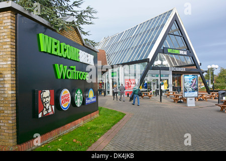Panel advertising companies trading within the Birchanger Green Motorway Services area