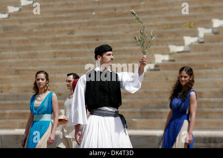 Apr. 12, 2011 - Athens, Greece - SPYROS LOUIS was a Greek water-carrier who won the first modern-day Olympic marathon - Stock Photo