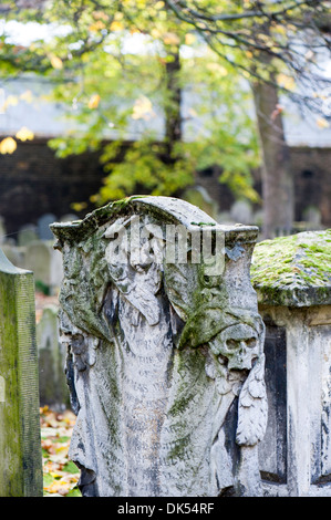 Bunhill Fields Burial Grounds, London, United Kingdom - Stock Photo