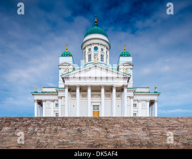 Helsinki Cathedral in Helskini, Finland. - Stock Photo