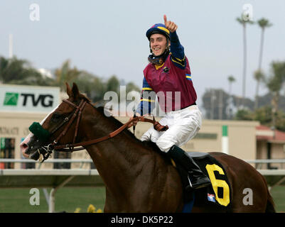 May 12, 2011 - Louisville, Kentucky, USA - FILE - MICHAEL BAZE (April 14, 1987 - May 10, 2011) was an American Thoroughbred - Stock Photo