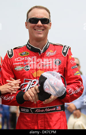 June 19, 2011 - Brooklyn, Michigan, U.S - NASCAR Nationwide Series driver Kevin Harvic (29) prior to the Heluva - Stock Photo