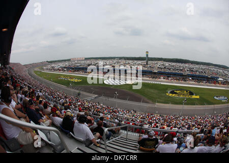 June 19, 2011 - Brooklyn, Michigan, U.S - A general view of Michigan International Speedway during the Heluva Good! - Stock Photo