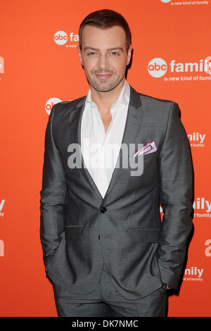 Joey Lawrence ABC Family Upfront Featuring: Joey Lawrence Where: New York City, United States When: 19 Mar 2012 - Stock Photo
