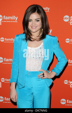 Lucy Hale ABC Family Upfront Featuring: Lucy Hale Where: New York City, United States When: 19 Mar 2012 - Stock Photo