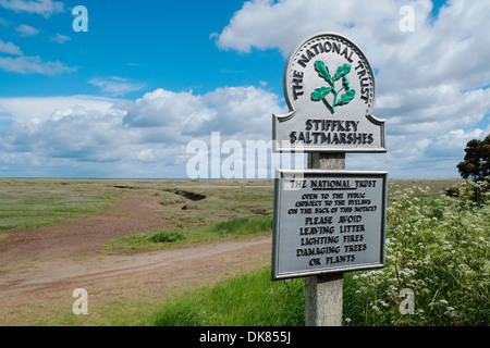Stiffkey Saltmarshes, Norfolk, England. - Stock Photo