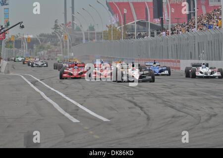 July 10, 2011 - Toronto, Ontario, Canada - The start of the Honda Indy Toronto at the CNE, Toronto Ontario. (Credit - Stock Photo