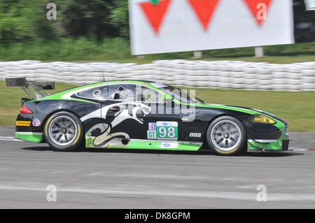 July 23, 2011 - Bowmanville, Ontario, Canada - The #98 JaguarRSR Jaguar XKR during morning practice for the IMSA - Stock Photo