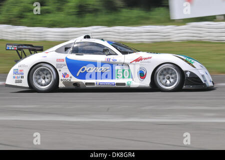 July 23, 2011 - Bowmanville, Ontario, Canada - The #50 Panoz Racing Panoz Abruzzi during morning practice for the - Stock Photo