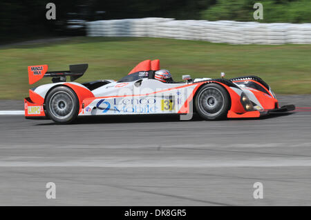 July 23, 2011 - Bowmanville, Ontario, Canada - The #37 Intersport Racing Oreca FLM09 during morning practice for - Stock Photo