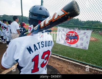 Aug. 13, 2011 - Aberdeen, Maryland, U.S. - Scenes from the Cal Ripken Babe Ruth World Series in Aberdeen, Maryland - Stock Photo
