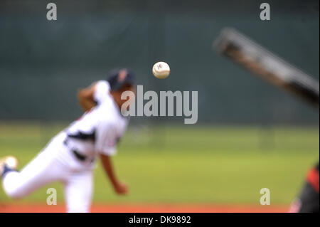 Aug. 13, 2011 - Aberdeen, Maryland, U.S. - Scenes during the Cal Ripken World Series in Aberdeen, Maryland on August - Stock Photo
