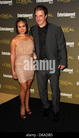 Chris Noth and Tara Lynn Wilson 2012 Entertainment Weekly Pre-Emmy Stock Photo, Royalty Free ...