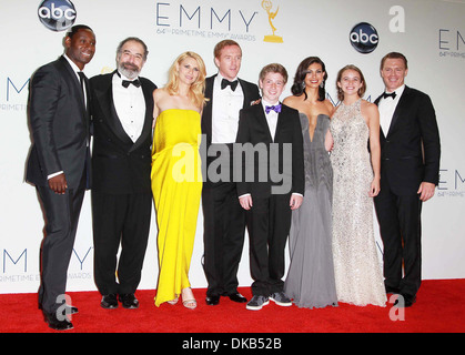 David Harewood Mandy Patinkin Claire Danes Damian Lewis Jackson Pace Morena Baccarin Morgan Saylor and Diego Klattenhoff - Stock Photo