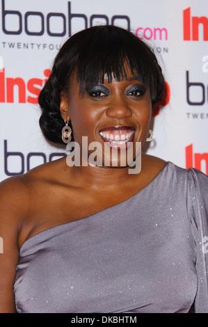 Chizzy Akudolu Inside Soap Awards 2012 Sponsored by boohoo.com at One Marylebone London England - 24.09.12 - Stock Photo