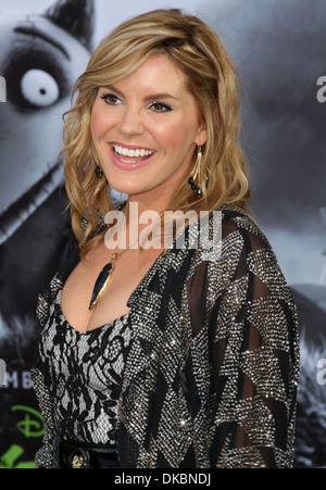 Grace Potter Disney's 'Frankenweenie' premiere at El Capitan Theatre - Arrivals Hollywood California - 24.09.12 - Stock Photo