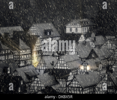 DE - NORTH RHINE WESTPHALIA: Freudenberg at Christmas - Stock Photo