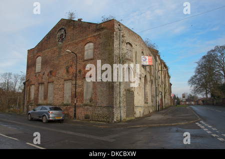 Derelict Abandoned Factory Warehouse Property North