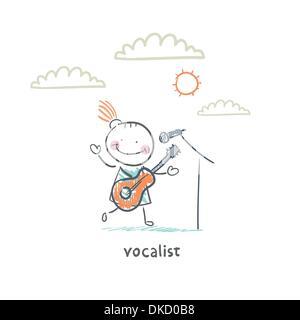 Cantatrice - Stock Photo