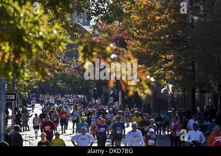 Nov. 6, 2011 - New York, New York, U.S - More then 4900 profession and amateur runners participate in the New york - Stock Photo
