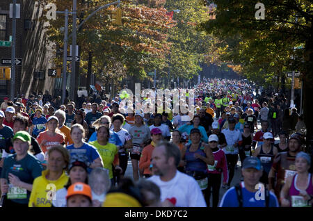 Nov. 6, 2011 - New York, New York - More then 4900 profession and amateur runners participate in the New york City - Stock Photo