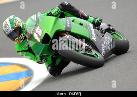 LE MANS (FRANCIA) 18/05/2007 - PROVE LIBERE GRAN PREMIO DI MOTOCICLISMO / NIETO / FOTO GIORGIO NEYROZ/SPORT IMAGE - Stock Photo