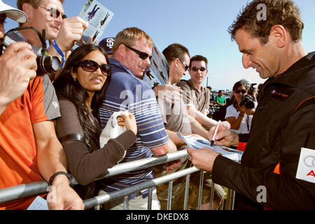 May 10, 2009 - San Diego, California, USA - NICOLAS IVANOFF  from France signing autographs after winning the 2009 - Stock Photo