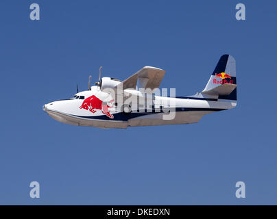 May 10, 2009 - San Diego, California, USA - Red Bulls grumman albatross at the Red Bull Air Race San Diego. (Credit - Stock Photo