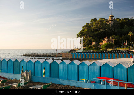 Lido, Santa Margherita Ligure, Riviera di Levante, Genoa Province, Liguria, Italy - Stock Photo