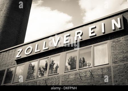 Zeche Zollverein, Essen, North Rhine-Westphalia, Germany, Europe - Stock Photo