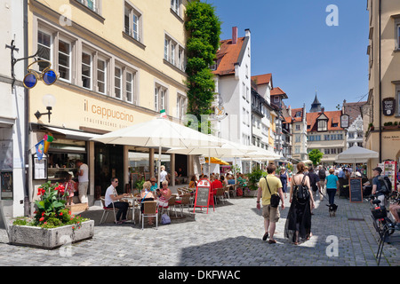 Lindau, Bodensee, Bavaria, Germany, Europe - Stock Photo