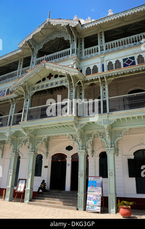 The Old Dispensary building, UNESCO World Heritage Site, Stone Town, Zanzibar, Tanzania, East Africa, Africa - Stock Photo