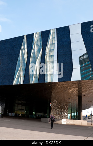 Museu Blau - Blue Museum, Natural History and Science Musuem, Barcelona, Catalonia, Spain - Stock Photo