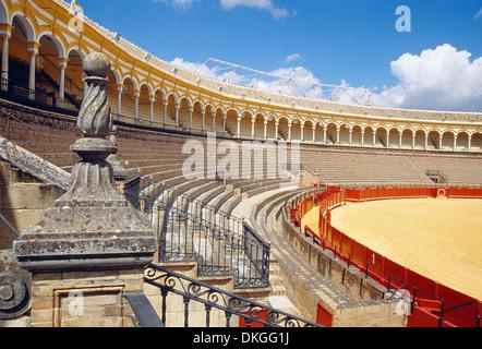 La Maestranza bullring. Sevilla, Andalucia, Spain. - Stock Photo