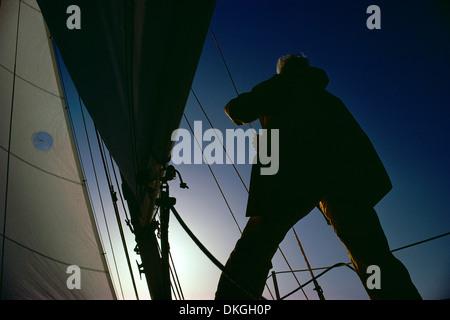 Sailor on Deck - Stock Photo
