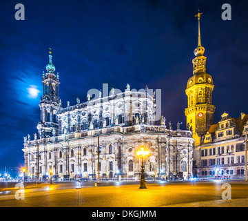 Dresden, Germany from Theatre Square. - Stock Photo