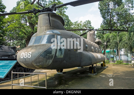 CH-47 Chinook helicopter - Stock Photo