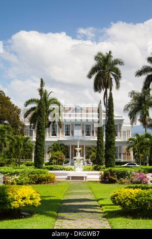 Devon House, Kingston, Jamaica, West Indies, Caribbean, Central America - Stock Photo
