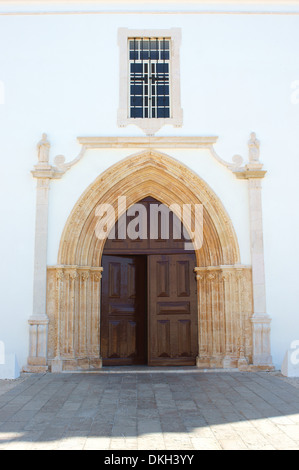 Church Nossa Senhora da Conceicao  Portimao Algarve Portugal - Stock Photo